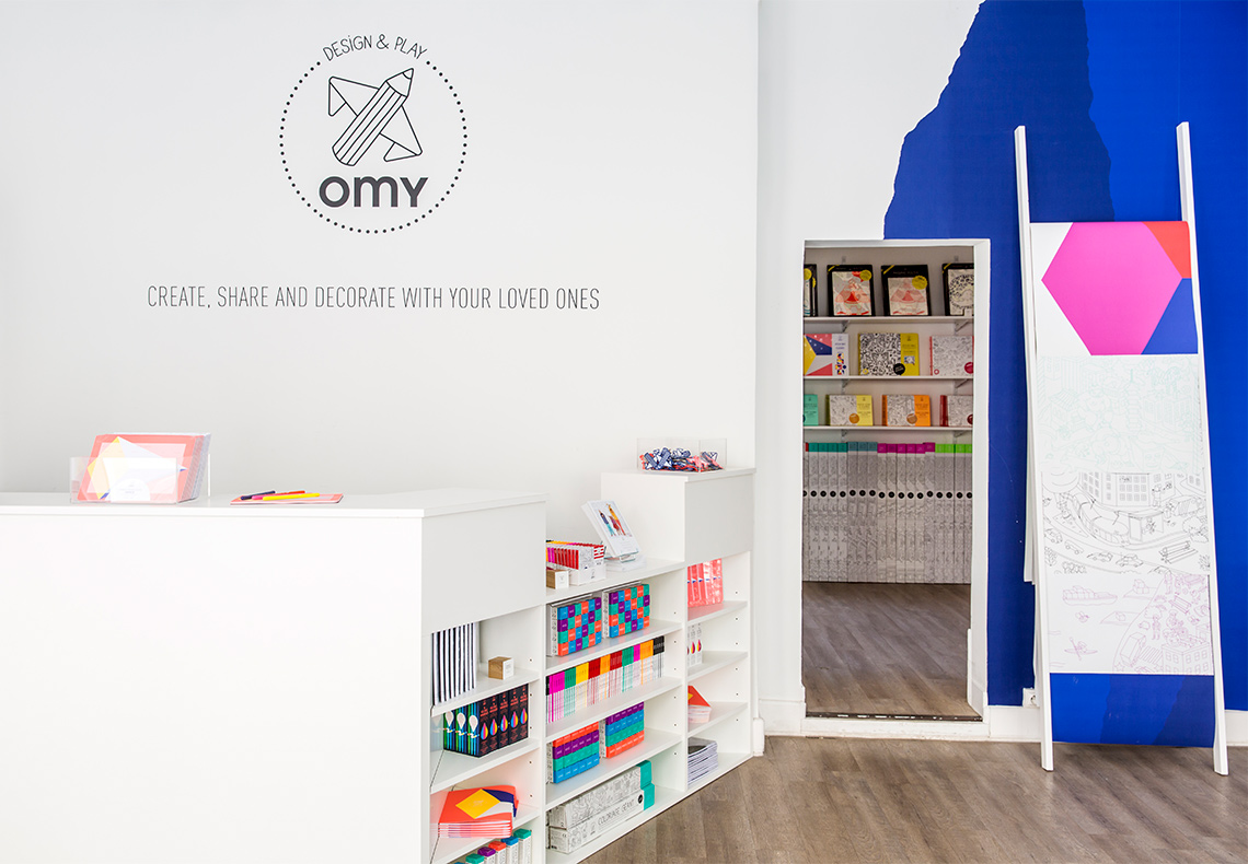 Boutique OMY Paris 10ème